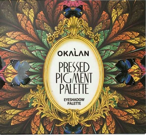 OKALAN PRESSED PIGMENT EYESHADOW PALETTE E023