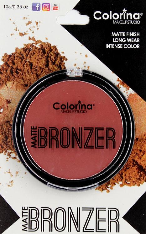 COLORINA BLISTER MATTE BRONZER #03