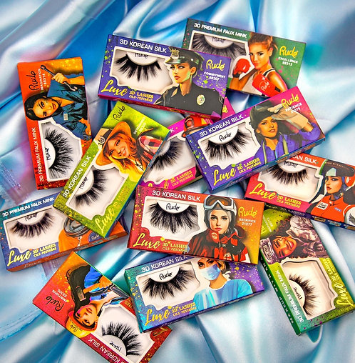 Rude Luxe 3D lashes