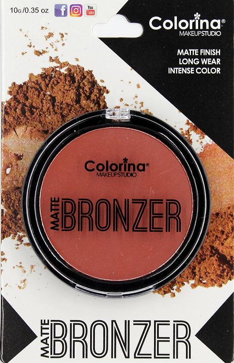COLORINA BLISTER MATTE BRONZER #04