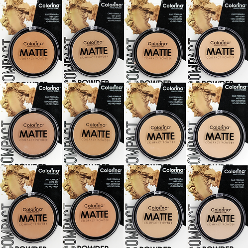 12 SHADES OF MATTE COMPACT POWDER BUNDLE