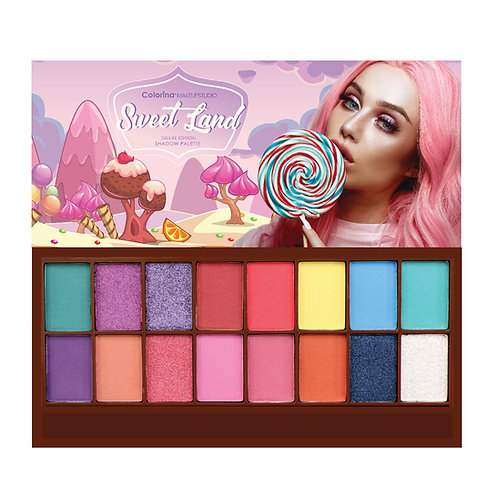 COLORINA SWEET LAND SHADOW PALETTE C