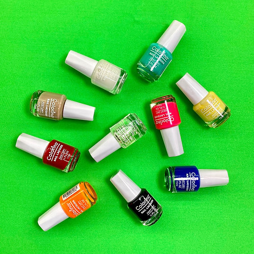 10 NAIL POLISH BUNDLE