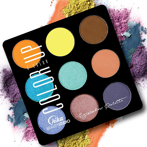 CHIKA COLOR UP EYESHADOW PALETTE A