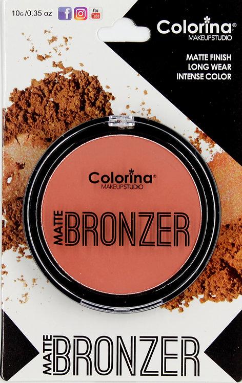 COLORINA BLISTER MATTE BRONZER #01