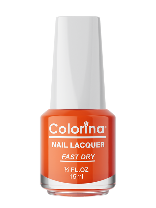 COLORINA NAIL LACQUER #37 ORANGE KNOCKOUT
