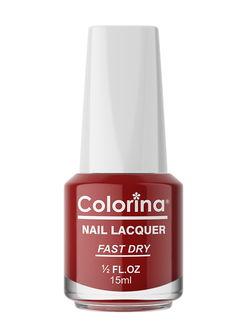 COLORINA NAIL LACQUER #06 RED DOOR