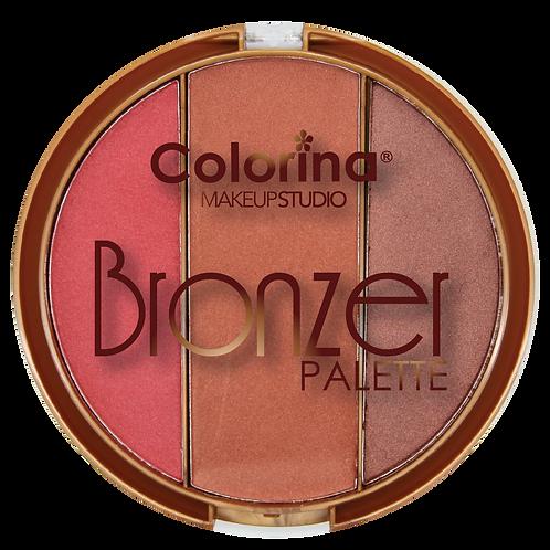 COLORINA ROUND BRONZER PALETTE #03