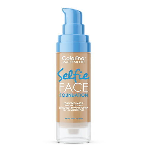 COLORINA SELFIE FACE FOUNDATION #10 DARK BEIGE
