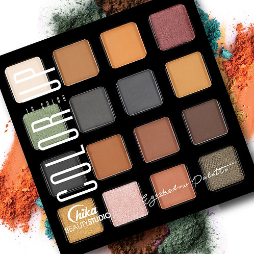 CHIKA COLOR UP EYESHADOW PALETTE E
