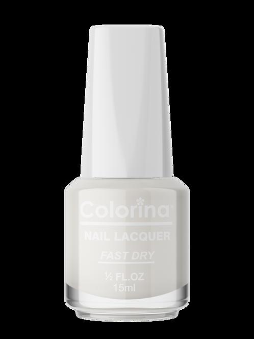 COLORINA NAIL LACQUER #05 MATTE WHITE