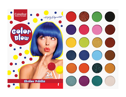 SWEET CANDY COLOR BLOW PALETTE