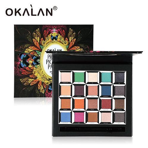 Okalan pressed pigment