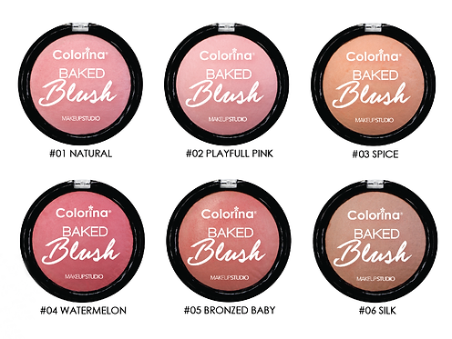 BAKED BLUSH COLLECTION