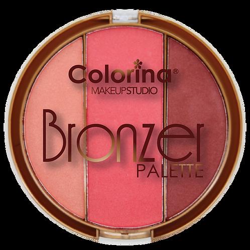 COLORINA ROUND BRONZER PALETTE #04
