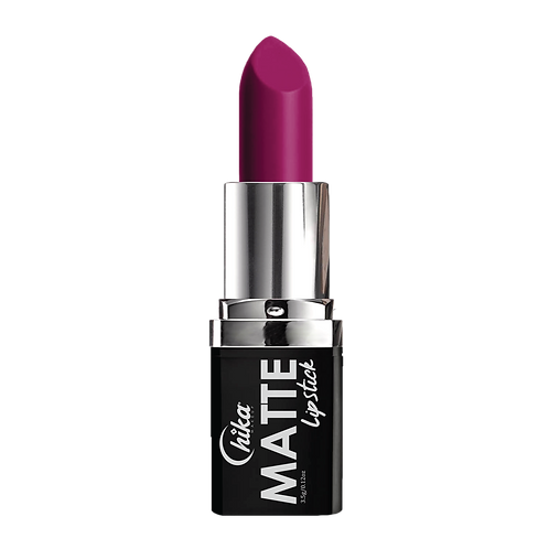 NEW CHIKA MATTE LIPSTICK HOT FUSHIA #01