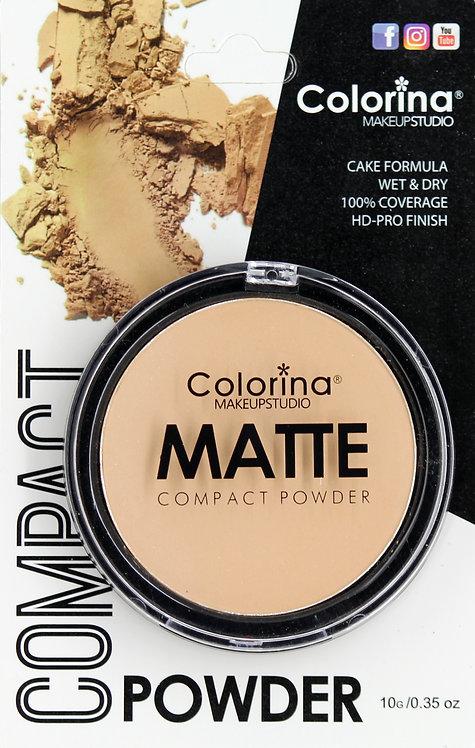 COLORINA BLISTER MATTE COMPACT POWDER #03