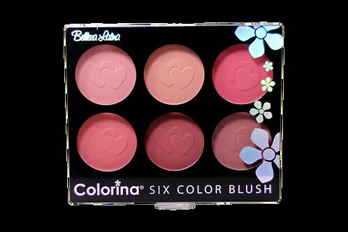 COLORINA 6 COLOR MATTE BLUSH #3