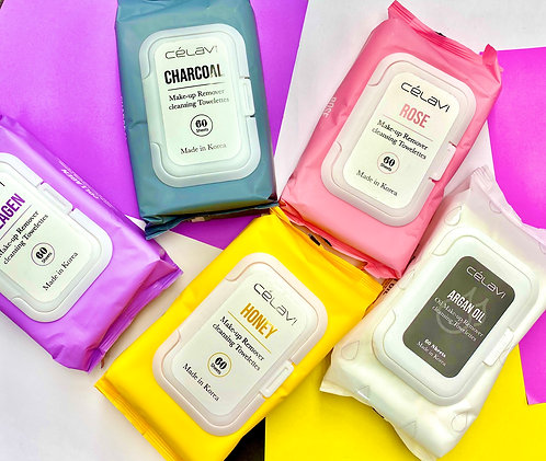 CELAVI OIL MAKEUP REMOVER CLEANSING TOWELETTES