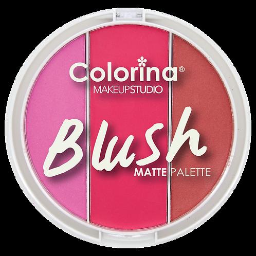 COLORINA ROUND BLUSH PALETTE #5