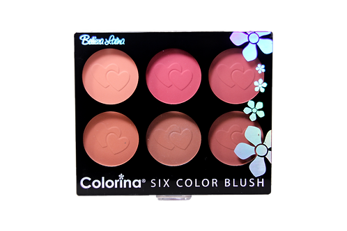 COLORINA 6 COLOR MATTE BLUSH #1