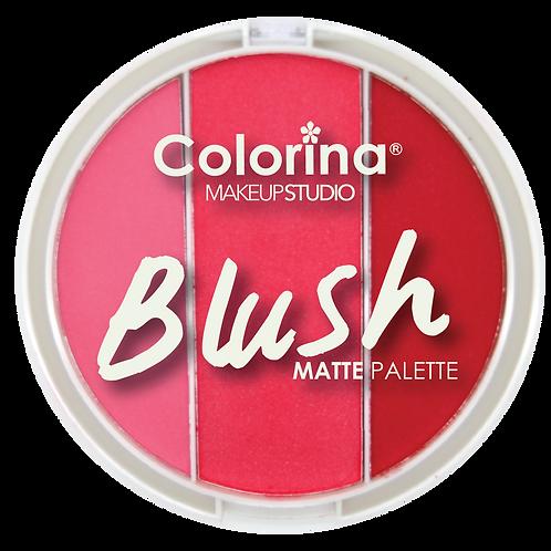 COLORINA ROUND BLUSH PALETTE #03