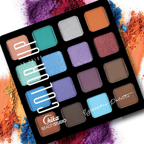 CHIKA COLOR UP EYESHADOW PALETTE F