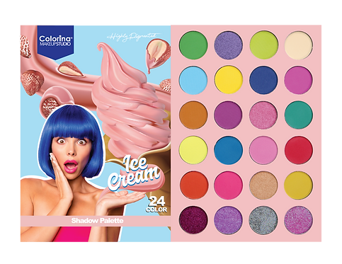SWEET CANDY ICE CREAM PALETTE