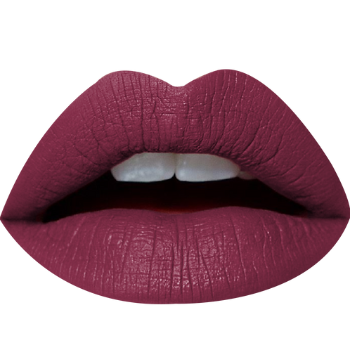 NEW CHIKA MATTE LIQUID LIPSTICK OVAL PLUM #02