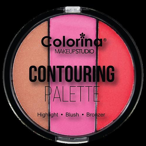 COLORINA ROUND CONTOURING PALETTE #01