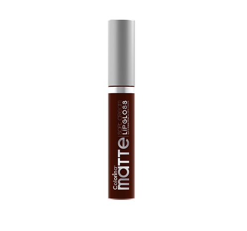 NEW COLORINA MATTE LIPGLOSS SC CHOCOLATE #19