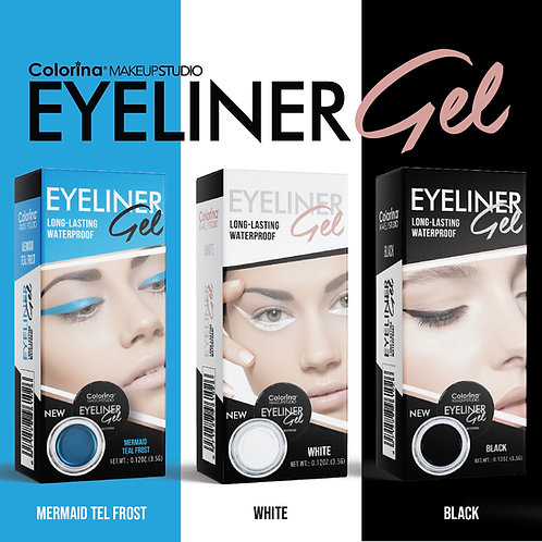 GEL EYELINER 3 SHADES BUNDLE