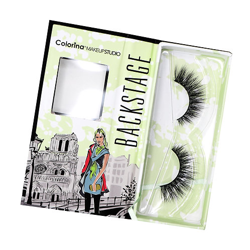 BACKSTAGE COLORINA 3D FAUX MINK LASHES