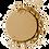 Thumbnail: CHIKA MIRROR COMPACT POWDER SAND #09