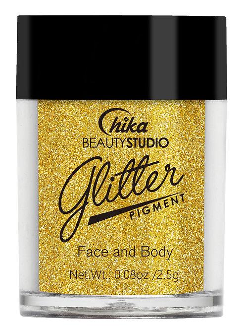 CHIKA GLITTER PIGMENT GOLD #06