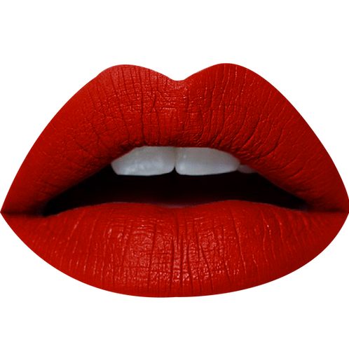NEW CHIKA MATTE LIQUID LIPSTICK OVAL REAL RED #16