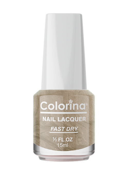 COLORINA NAIL LACQUER #95 GOLDEN GATE