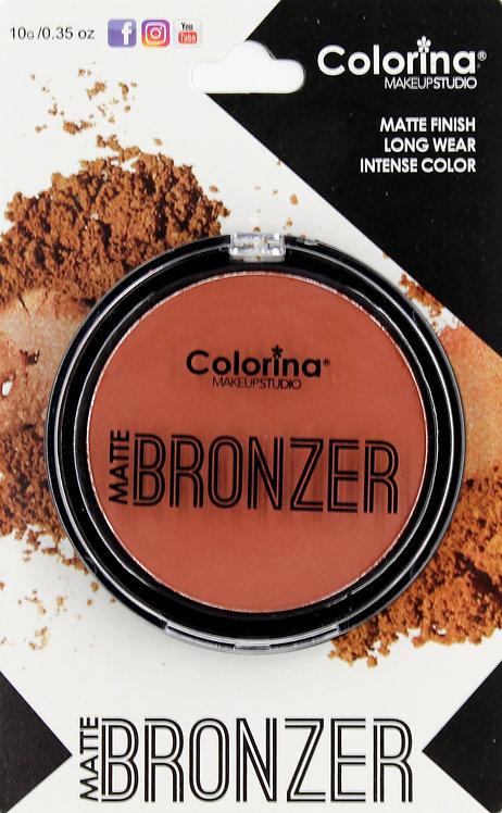COLORINA BLISTER MATTE BRONZER #06