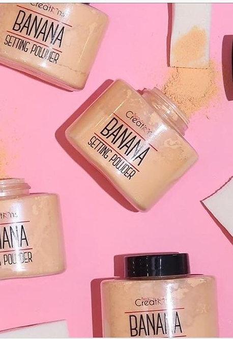 Banana powder beauty creations