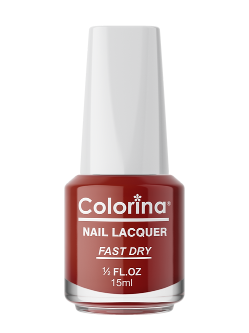 COLORINA NAIL LACQUER #11 PARTY RED