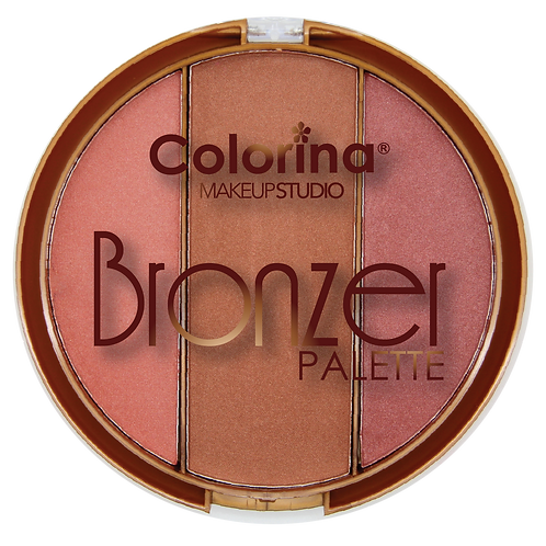 COLORINA ROUND BRONZER PALETTE #05