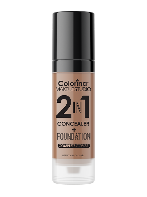COLORINA 2in1 CONCEALER and FOUNDATION SAND #05