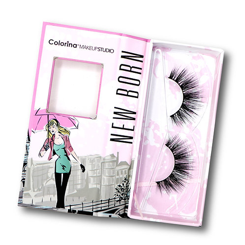 NEW BORN COLORINA 3D FAUX MINK LASHES