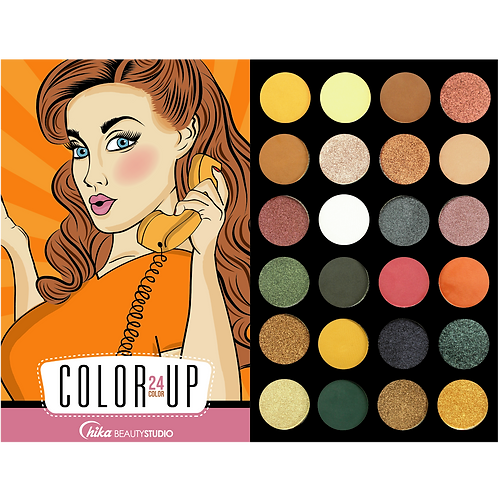 COLOR UP EYESHADOW PALETTE (F)