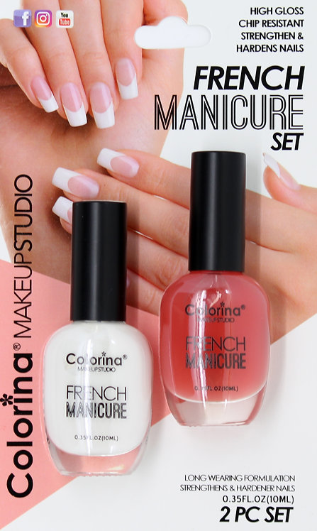 COLORINA BLISTER FRENCH MANICURE KIT #01