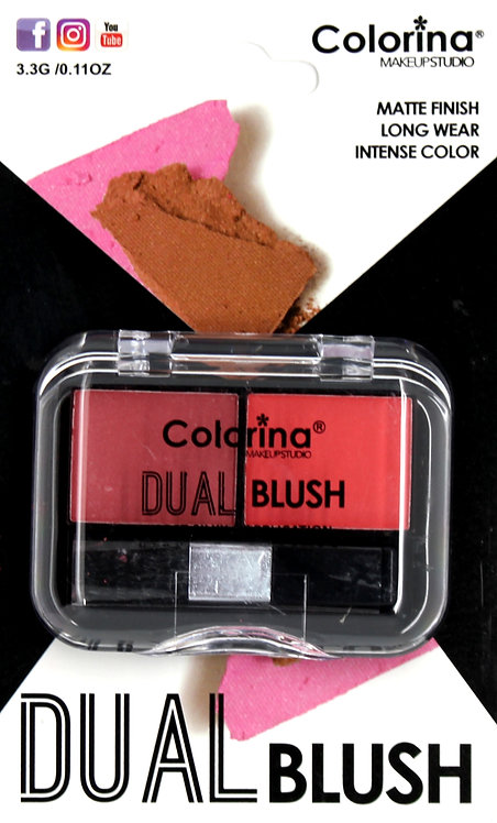COLORINA BLISTER MATTE DUAL BLUSH #06