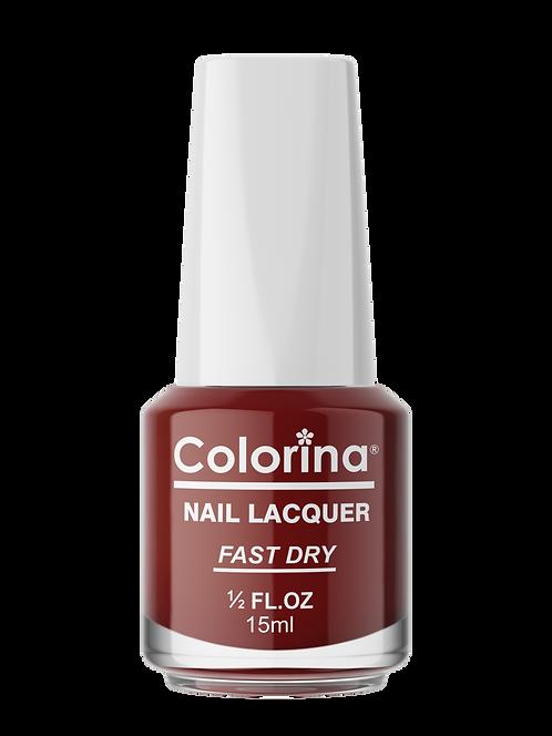 COLORINA NAIL LACQUER #15 SCARLET