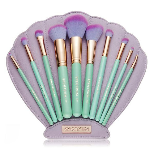 BEAUTY CREATIONS MERMAID BRUSH SET 10 PIECES