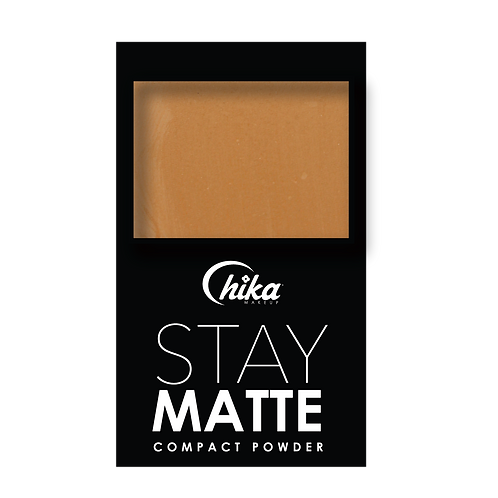 CHIKA BASE COMPACT POWDER #10 TOFEE