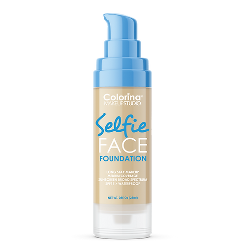 COLORINA SELFIE FACE FOUNDATION #06 NATURAL BEIGE